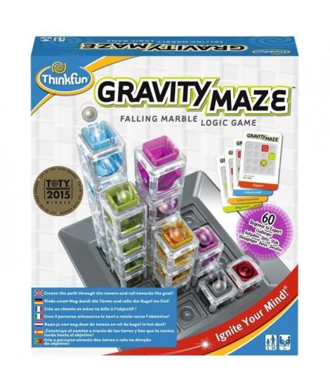 RAVENSBURGER Gravity Maze - Jeu de Casse Tete - 60 Cartes Défis-Solutions