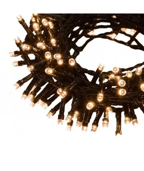XmasKING Guirlande LED d'extérieur noël - Blanc chaud - 18,5 m