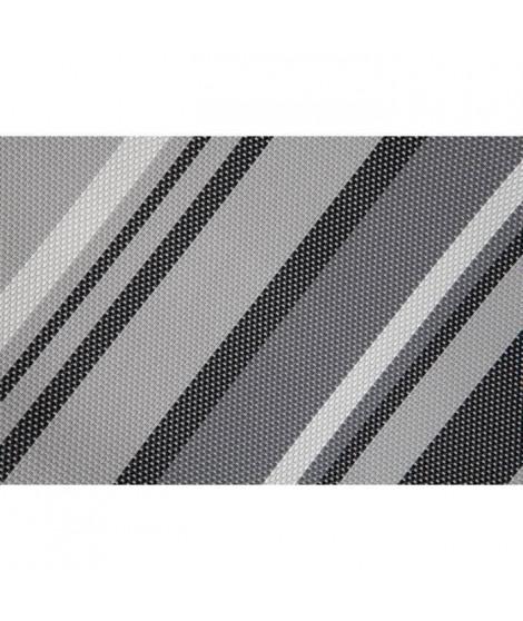 CATRAL Brise-vue en mailles pour balcon - 0,9 x 3m - Gris / Blanc