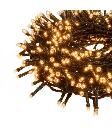 XmasKING Guirlande LED d'extérieur noël - Blanc cuivré - 18,5 m