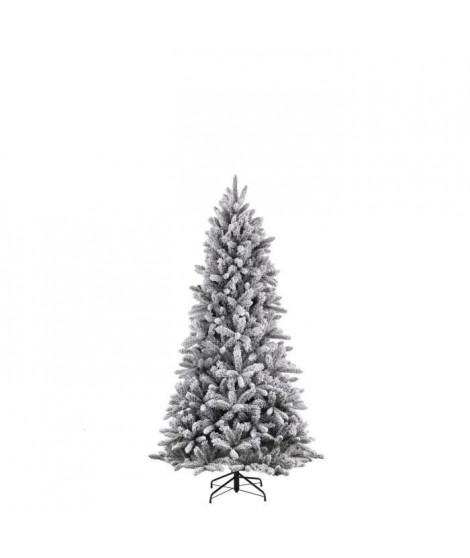 Sapin de Noël Snowdon - PVC - H 155 x Ø 102 cm - 511 branches - Vert