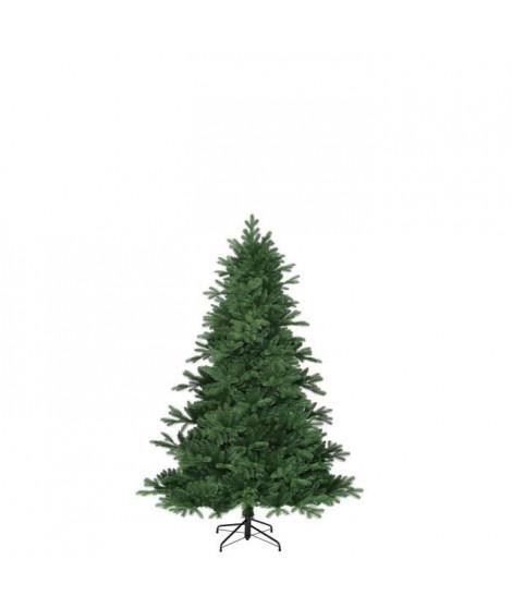 Sapin de Noël Brampton - PVC - H 120 x Ø 91 cm - 684 branches - Vert