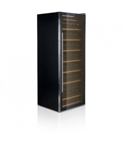 CAVISS- C1199CBE - Cave de conservation - 199 bouteilles - Porte verre-Systeme anti vibration - Eclairage LED