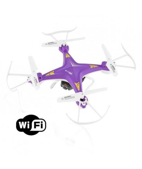 PNJ Drone Aero 1 avec caméra intégrée - WiFi et VGA - Flip 360° - Radio-commande 30m