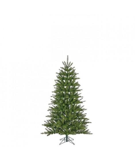 Sapin de Noël Caroline - PVC - H 120 x Ø 76 cm - 298 branches - Vert