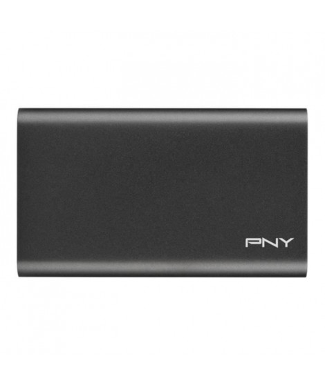 PNY - Disque SSD Externe - Elite - 240Go - USB 3.1 (PSD1CS1050-240-FFS)
