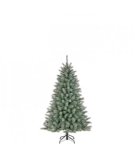 Sapin de Noël Toronto - PVC - H 120 x Ø 86 cm - 305 branches - Vert et gris