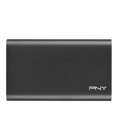 PNY - Disque SSD Externe - Elite - 960Go - USB 3.1 (PSD1CS1050-960-FFS)