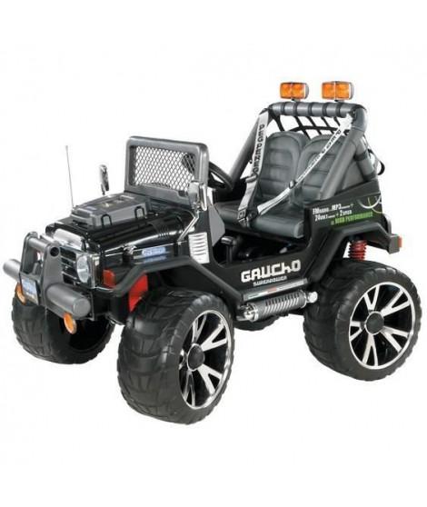 PEG PEREGO Voiture electrique 4X4 Gaucho Superpower - 2 places - Batterie 24V
