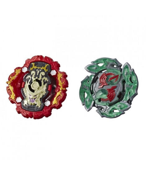 Beyblade Burst Rise - Pack Duel Hypersphere Toupies Viper Hydrax H5 et Dullahan