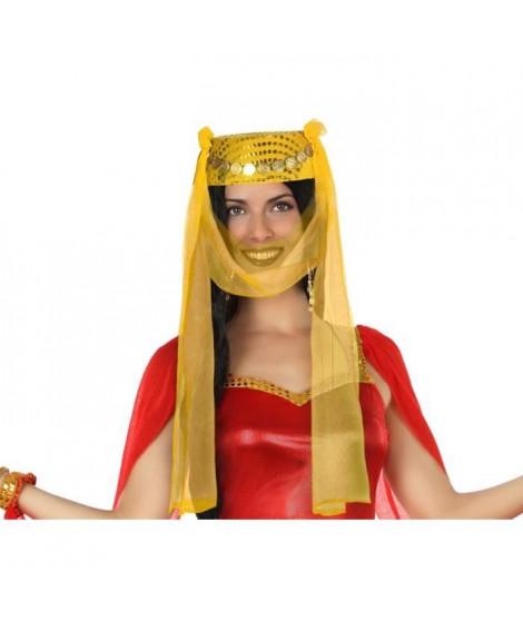 ATOSA Chapeau arabe - Jaune et doré