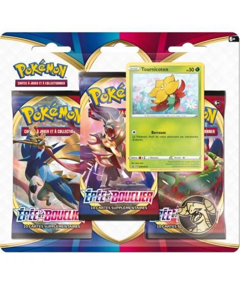 POKEMON Epée & Bouclier Pokémon Day - Pack 3 boosters TOURNICOTON - 30 cartes - 3PACK01POKDAY