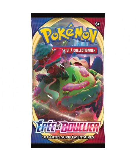 POKEMON Epée & Bouclier 1 - Booster (10 cartes Pokémon) - Modele aléatoire