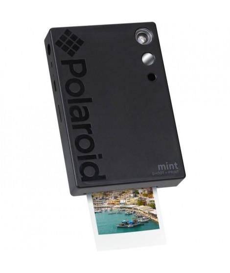 POLAROID POLSP02B Appareil photo instantané 16 Mp - Taille photo 2x3 - Impression thermique - 6 modes images - Noir