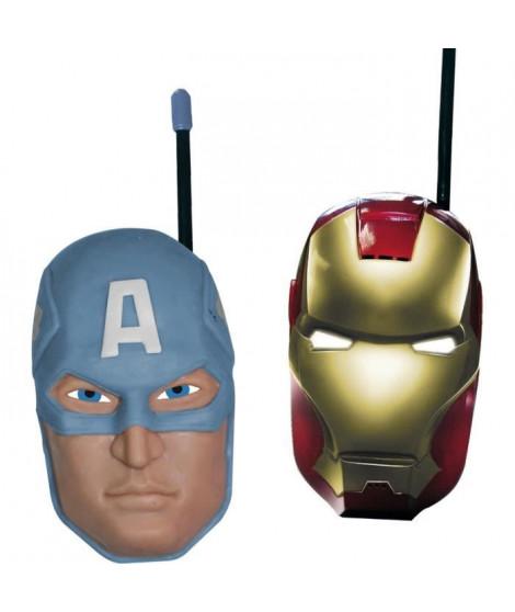 AVENGERS Talkie-walkie (Iron Man et Captain America)