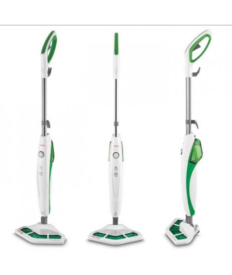 POLTI VAPORETTO - SV400_Hygiene - Balai vapeur - autonomie illimitée - 1500W - 2 accessoires - Vert