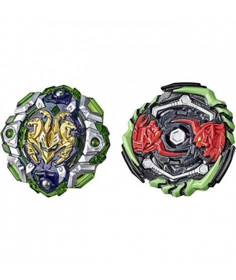 Beyblade Burst Rise - Pack Duel Hypersphere Toupies Monster Ogre O5 et Engaard E5