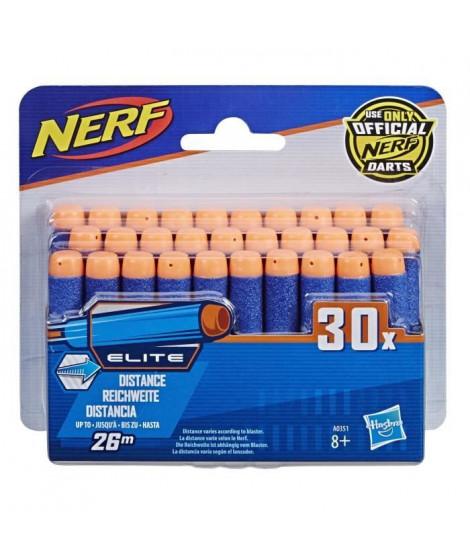 NERF ELITE - Recharges x30 [FLÉCHETTES OFFICIELLES]