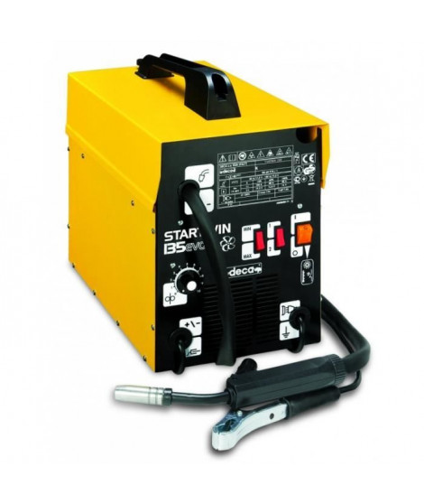 DECA Poste a souder MIG Gaz/No Gaz semi-automatique  STARWIN 135 EVO - 1,5 kW  - 120 A