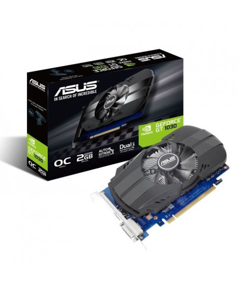 Asus Carte graphique GeForce GT 1030 - 2 Go - GDDR5
