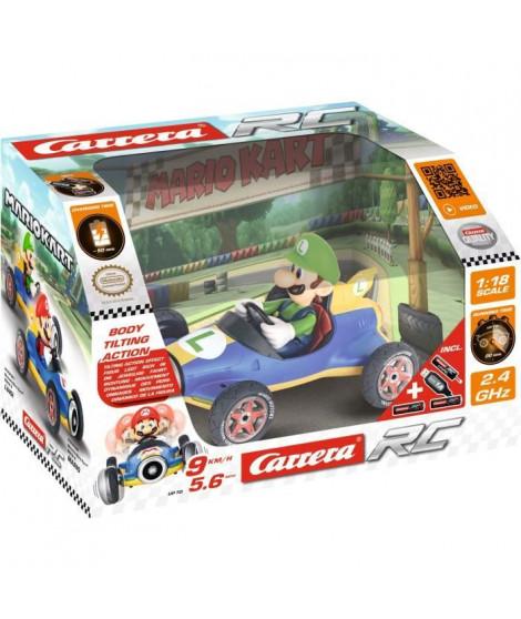 CARRERA - Mario Kart(TM) Mach 8 voiture télécommandée Luigi