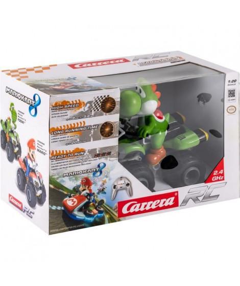 Carrera Voiture Quad télécommandée Nintendo Mario Kart Yoshi
