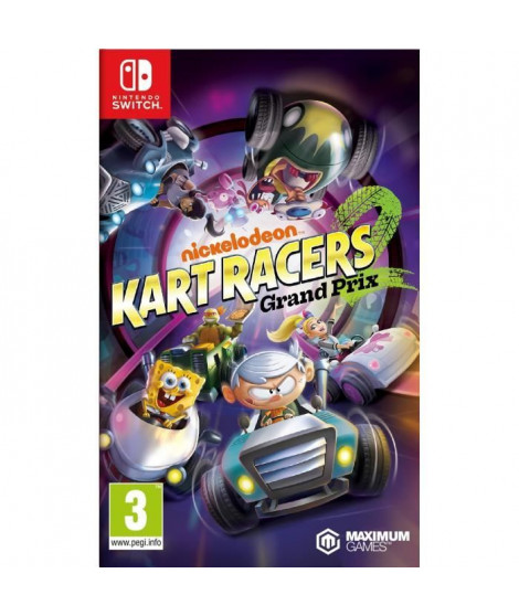 Nickelodeon Kart Racers: Grand Prix Jeu Switch