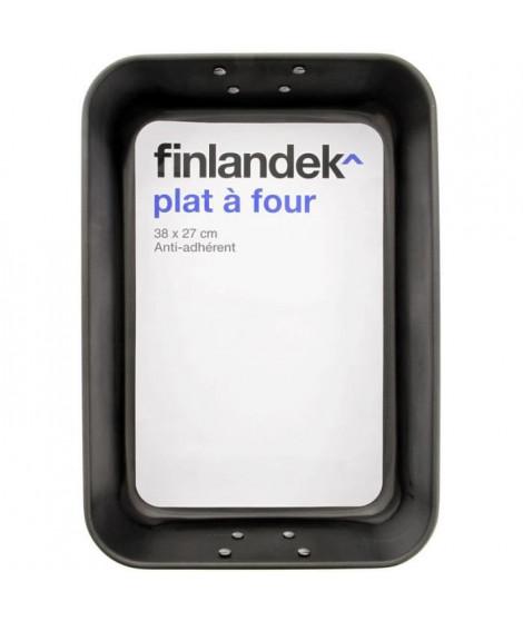 FINLANDEK Plat a four métal avec poignées - 38x26 cm