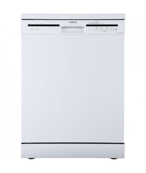 OCEANIC - Lave-vaisselle - 12 couverts - 49 dB - A++AA - départ différé - Blanc
