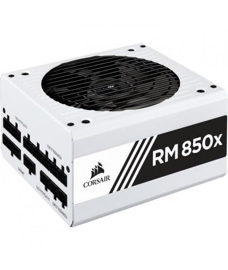 CORSAIR Alimentation RM850X Blanc entierement modulaire 850 watts certifiée 80 PLUS Gold - (CP-9020188-EU)