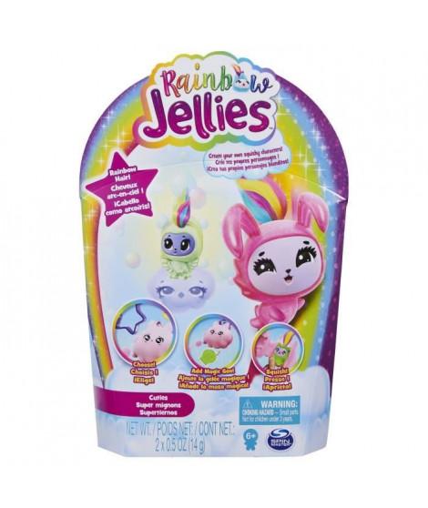 PACK DE 2 Rainbow Jellies - 6056246 - Coffret Kit pour créer ses personnages - Modele aléatoire - Jouet enfants a partir de 6…