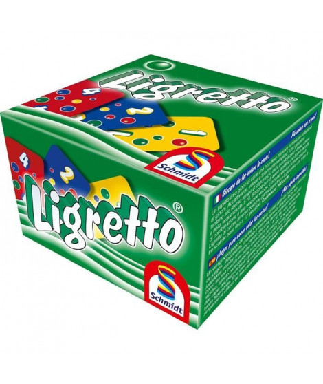 SCHMIDT AND SPIELE Jeu de cartes - Ligretto - Vert