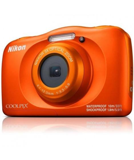 NIKON COOLPIX W150VQA112EA - 13Mp CMOS -3x, 2,7 - QVGA, 1080p - Water Proof - Shock Proof - WIFI