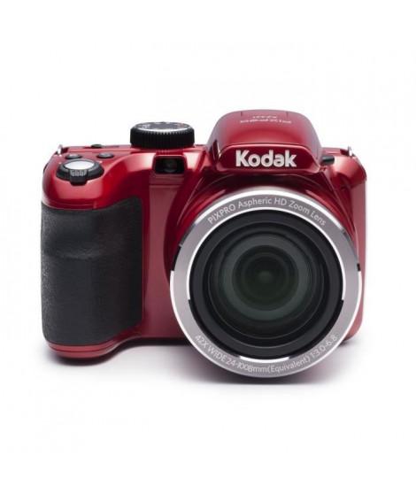 KODAK AZ421 Appareil photo numérique - Zoom optique 42x - Grand angle 24 mm - Ecran 3 LCD - 16 MP - Rouge