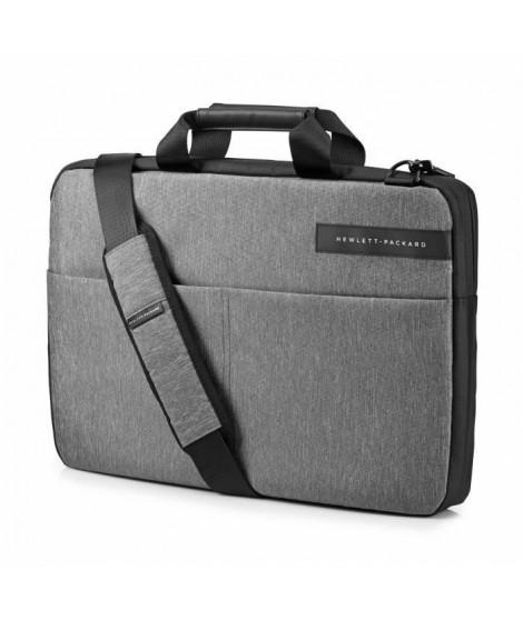HP Sacoche pour ordinateur portable - Signature Slim Topload - 17,3 - Noir / Gris