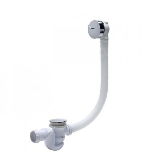 WIRQUIN Vidage pour baignoire L700 - Siphon cobra ABS