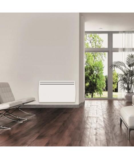 CONCORDE DESIGN SOFT C689805 - Radiateur Chaleur Douce - Horizontal 1500W - Coloris Blanc - Fabrication Française - Programmable