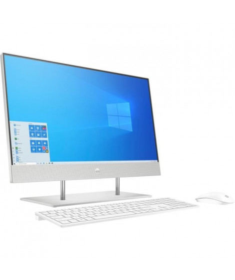 HP All-in-One 24-dp0045nf - 24FHD - Intel Core i7-1065G7 - RAM 16Go - Stockage 256Go SSD + 1To HDD - Windows 10