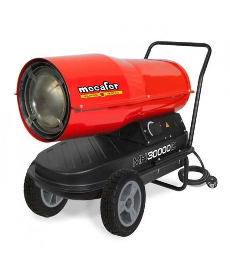 MECAFER Chauffage de chantier / Canon a air chaud Diesel / Fioul avec turbine incorporée 30000 W MH30000D
