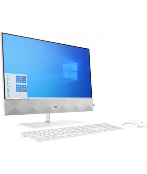 HP Pavilion All-in-One 24-k0082nf - 24FHD - i5-10400T - RAM 8Go - Stockage 128Go SSD + 2To HDD - Windows 10