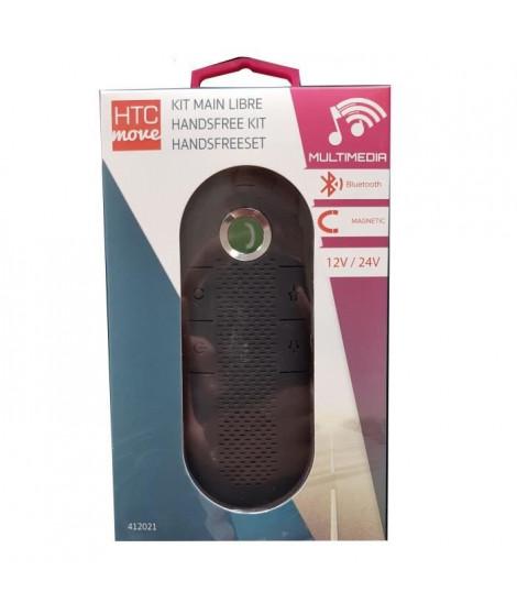 M500 Kit main libre bluetooth 12 / 24 V avec micro intégré + Chargeur AC et câble de charge