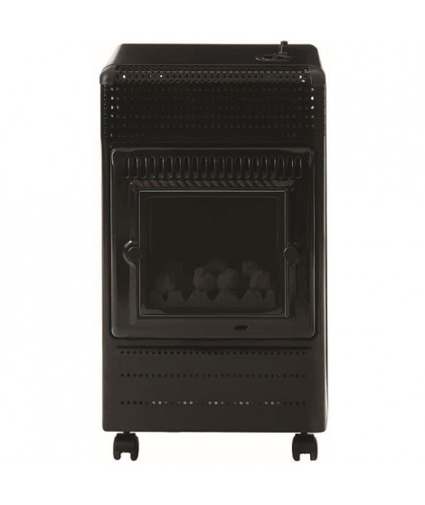 Favex Recommandé par Butagaz -Ektor Fire -3400 Watts -Chauffage d'appoint gaz Butane -Infrableu - Flammes apparentes - 3 puis…