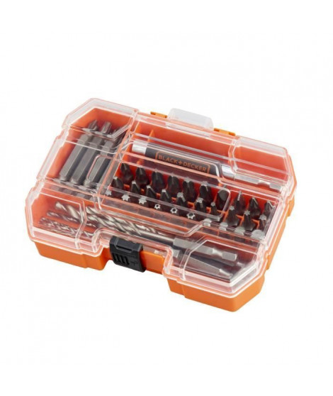 BLACK&DECKER Coffret 45 accessoires vissage A7234