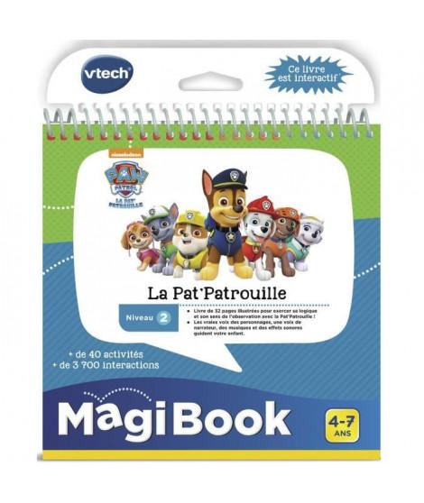 VTECH - Livre Interactif Magibook - Pars en Mission avec la Pat' Patrouille