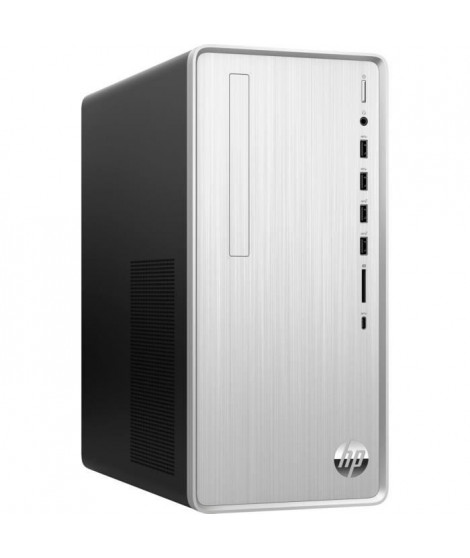 HP PC de Bureau Pavilion TP01-0048nf - Ryzen 5 3400G - RAM 8Go - Stockage 128Go SSD + 1To HDD - Windows 10