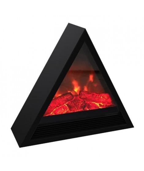 CARRERA Khéops 1800 watts Cheminée électrique pyramidale décorative et chauffage d'appoint