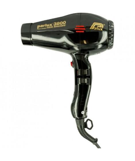 PARLUX Seche-cheveux - 3800 Ionic Eco Friendly - Débit d'air 75 m3/h - 2100 W - Noir