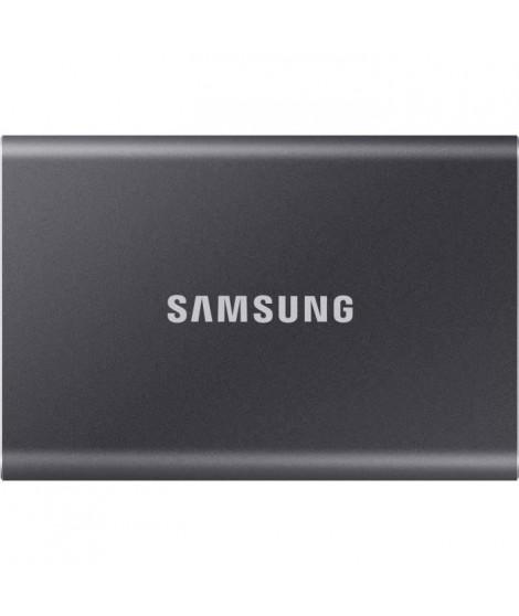 SAMSUNG SSD externe T7 USB type C coloris gris 2 To