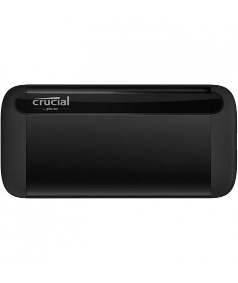 CRUCIAL - Disque SSD externe - X8 Portable - 1To - USB-C 3.1 (CT1000X8SSD9)