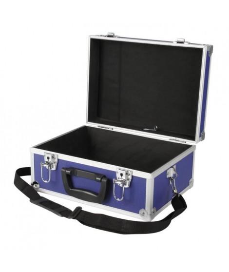 COGEX Valise de rangement a bandouliere vide bleue